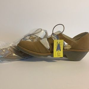 Fly London Cupido sand shoes